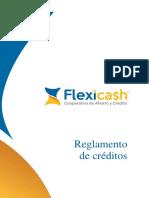 Reglamento Creditos Marzo 2018 Flexicash