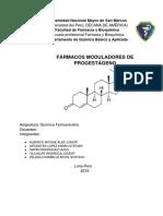 Fármacos Moduladores de Progestágeno