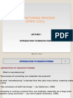 37092590 Manufacturing Process Intro to Manufacturing