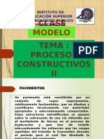 Clase Modelo de Pavimentos y Tipos