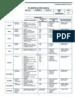 Matematicas Planificacion - 1 Basico Proate.