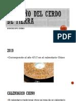 2019 Año Del Cerdo de Tierra