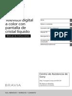 Manual Sony KDL-48W657D