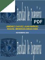 Habilidades, Funciones, Roles Del Director, Juan M. Jiménez Chávez, Diego Ivan Rocha M, 2005-1