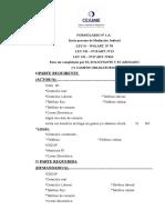 Formulario 1 A