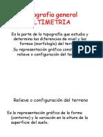 Topografia General Altimetria