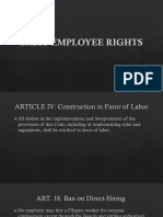 Basic Employee Rights