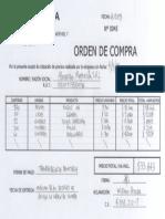 Orden de Compra Mayorista