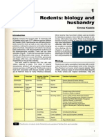 Rodent Biology and Husbandry