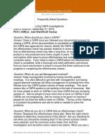 FAQs for CAPA Webinar Final