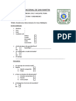 Encuesta Residencial Universitaria - Taller de Diseño 5