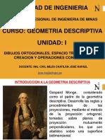 Geometria Descriptiva - Semana - i