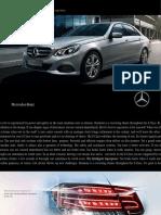 E Class Brochure