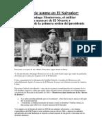 Nayib Bukele Asume en El Salvador
