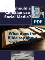 Social media and the Christian Disciple