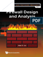 Alex X. Liu - Firewall Design and Analysis (Computer and Network Security)-World Scientific Publishing Company (2010).pdf