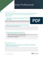 AWS Business Professional Workbook