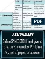 Rubrics Assignment (2)
