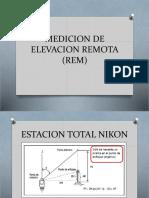Medicion de Elevacion Remota (Rem) 2