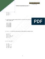 7259-Tips 7ª Entrega de Matemática