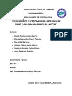 protocolo hidrociclo