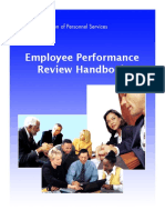 2008 Employee Performance Review Handbook Cover Update