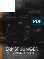Ernst Jünger - Interwar Articles