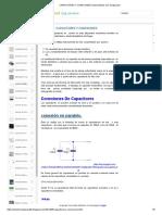 Capacitores y Conexiones _ Aprendiendo Con Sergiouasd