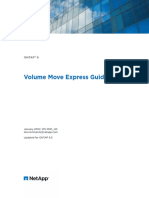 ONTAP 90 Volume Move Express Guide