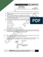 CBS Board-XII Physics
