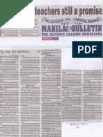 Manila bUlletin, June 4, 2019, Pay hike for teachers still a promise.pdf