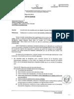 Contraloría envia carta pidiendo recttificación a Vladimir Cerrón