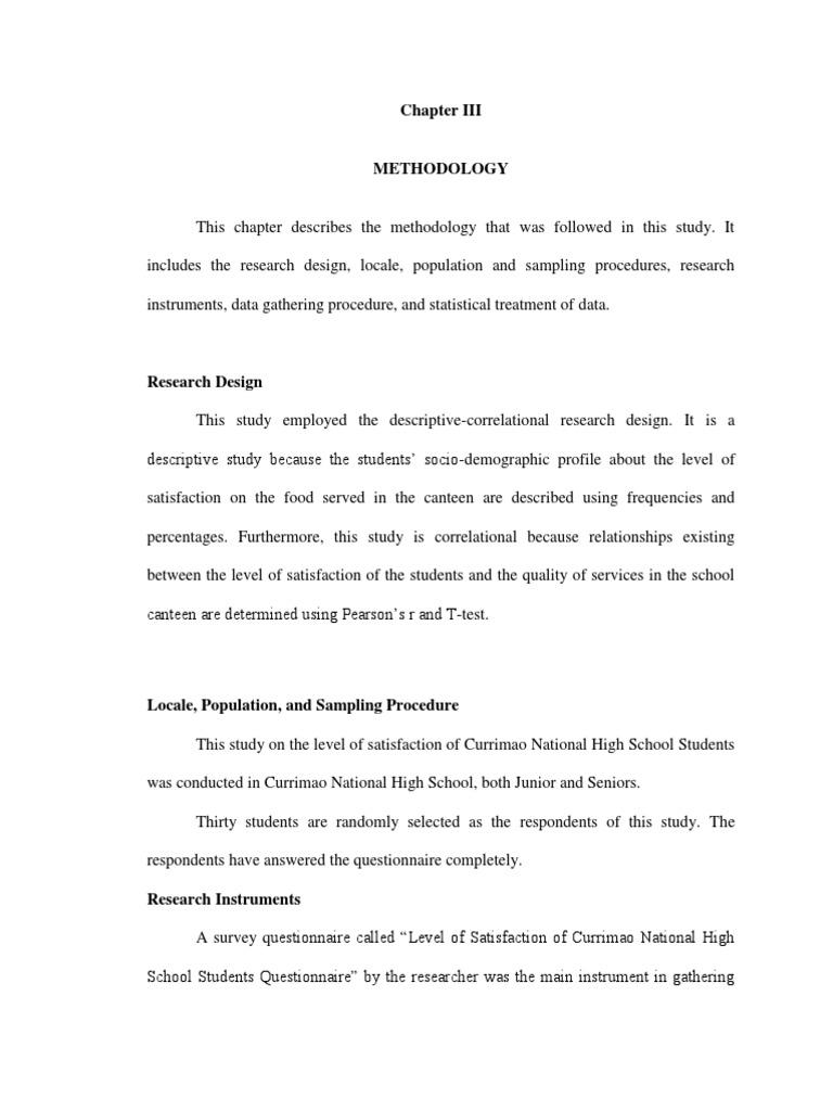 Pr2 Chapter 3 Docx Likert Scale Questionnaire