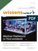 wissenswert Juni 2019 - Magazin der Leopold-Franzens -Universität Innsbruck