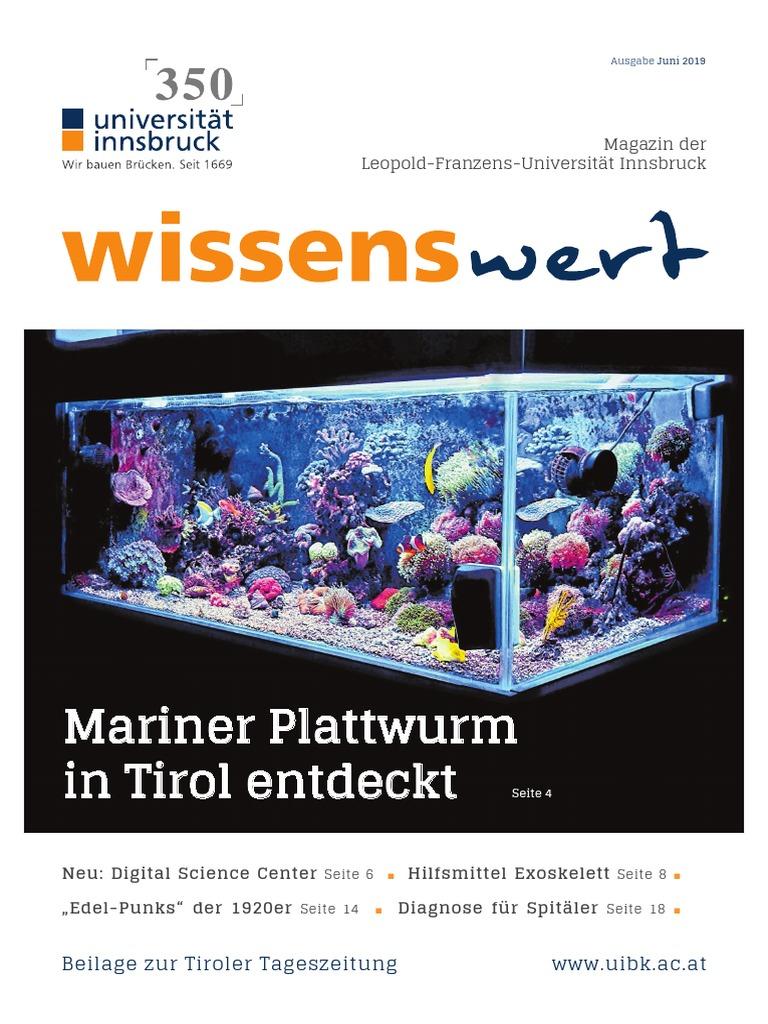 Wissenswert Juni 2019 Magazin Der Leopold Franzens