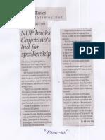 Manila Times, June 4, 2019, NUP backs Cayetano's bid for speakership.pdf