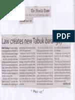 Manila Times, June, 4, 2019, Law creates new Tabuk barangay.pdf