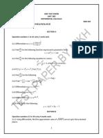 Ut Differential Calculus