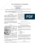 Paper Diofanto