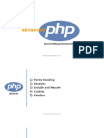 Advanced PHP