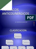 FARMACOS ANTICOLINERGICOS