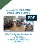 memoria Plambe 18-19