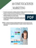 Rol de Las Comunicaciones y Marketing