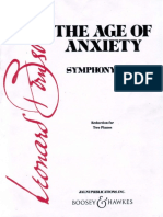 Bernstein Second Symphony (two pianos version)
