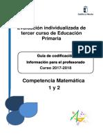 Guía de Codificación de La Competencia Matemática