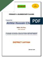Essays_Primary & Elementary