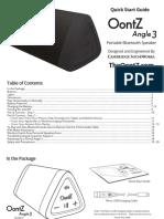 OontZ Angle 3 User Manual