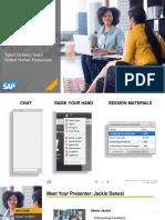 Navigating SAP v50