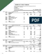 3.6.2.Analisis de Costos Unitarios