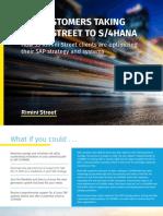 Rimini Street eBook SAP Customers Taking RSI to S4HANA